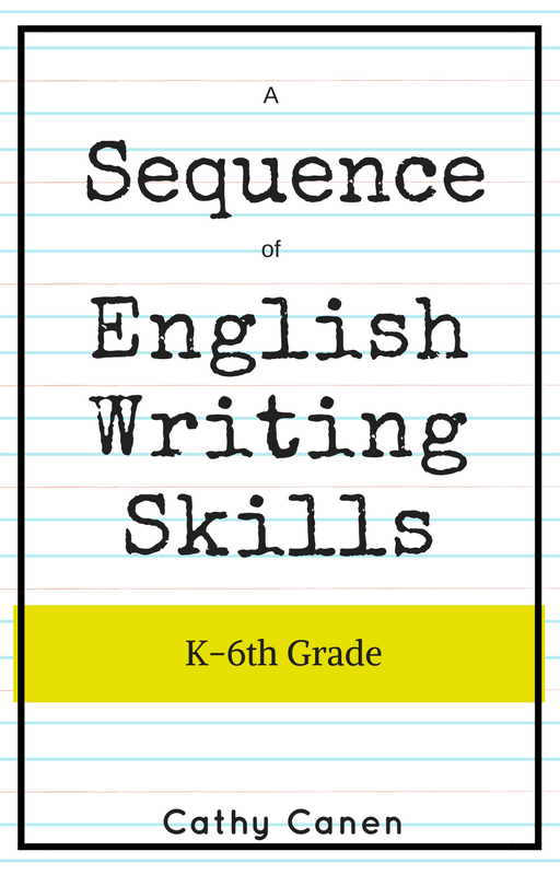 english writing skills sequence, cathycanen.com